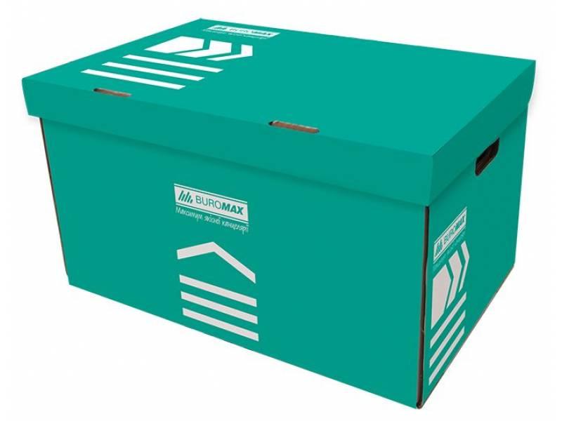 короб для архівних боксів Buromax, бірюзовий