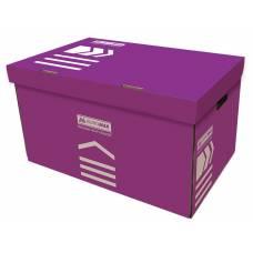 короб для архівних боксів Buromax, фіолетовий