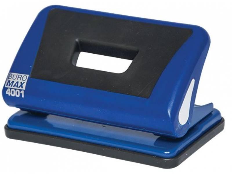 Діркопробивач Buromax (4001) 10арк. синій