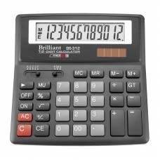 Калькулятор бухгалтерський Brilliant BS-312 12р. (156*157мм)
