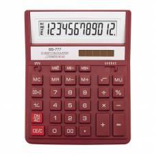Калькулятор бухгалтерський Brilliant BS-777RD червоний 12р. (157*200мм) (аналог Citizen 888)