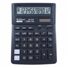 Калькулятор бухгалтерський Brilliant BS-0333 12р. (143*192мм)