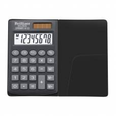 Калькулятор кишеньковий Brilliant BS-200x 8р. (62*98мм)