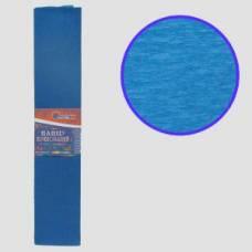 Кольоровий папір гофрований *VL (55%) 50*200 синій