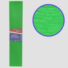 Кольоровий папір гофрований *VL (55%) 50*200 світло-зелений