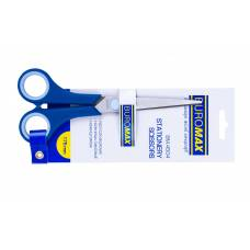 Ножиці Buromax RUBBER-1 гумові ручки 175мм