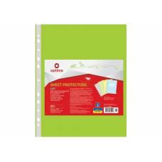 Optima A4 (100шт.) LUX 40мкм салатовий