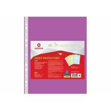 Optima A4 (100шт.) LUX 40мкм фіолетовий