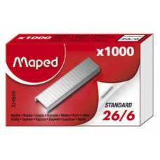 Скоби для степлера *Maped №26/6 1000шт.
