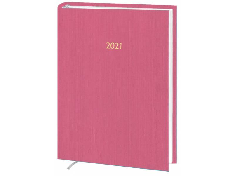Діловий щоденник датований Поліграфіст В240 (14) KASHMIR баладек, рожевий