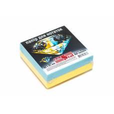 Crystal 85*85мм 400л жовто-блакитний