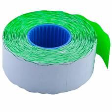Цінники Buromax 26X16 фігурні 1000шт 16м (зелені)