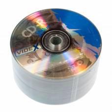 Диск СD-R Videx X-BLUE 700Mb 52x bulk 50