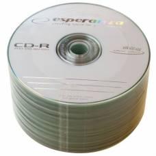Диск СD-R Esperanza 700Mb 52x bulk 50
