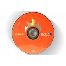 Диск DVD-R Videx 4.7Gb bulk 10 16x