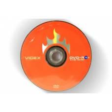 Диск DVD-R Videx 4.7Gb bulk 10 16x