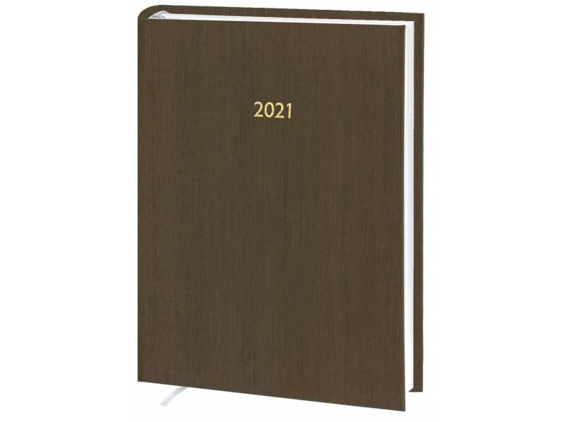 Діловий щоденник датований Поліграфіст В240 (14) KASHMIR баладек, коричневий