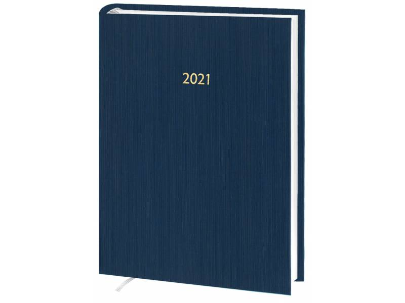 Діловий щоденник датований Поліграфіст В240 (14) KASHMIR баладек, синій