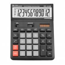 Калькулятор бухгалтерський Brilliant BS-444B 12р. рухомий дисплей (147*198мм)
