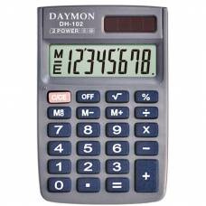 Калькулятор кишеньковий *Daymon DH-102 8р. (58*88мм)