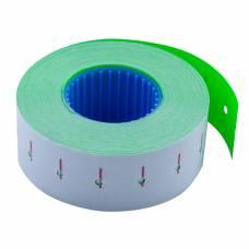 Цінники Buromax 22X12 прямокутні 1000шт 12м (зелені)