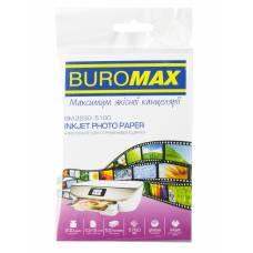 Фотопапір BUROMAX, глянцевий 200g, 10X15*100 (УПАК)