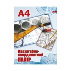 Скат міліметровий папір А4, 1л.