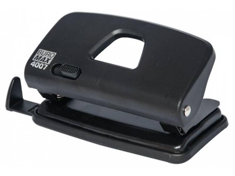 Діркопробивач Buromax (4007) 10арк. чорний