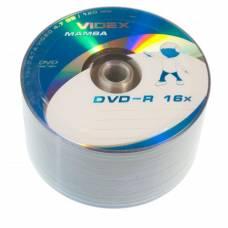 Диск DVD-R Videx MAMBA 4.7Gb bulk 50 16x