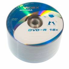 Диск DVD-R Videx MAMBA 4.7Gb bulk 50 16x