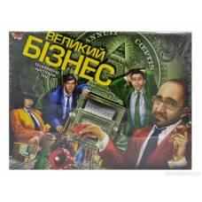 Гра економічна Danko Toys ВЕЛИКИЙ БІЗНЕС