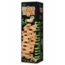 Гра розважальна Danko Toys NUMBER TOWER