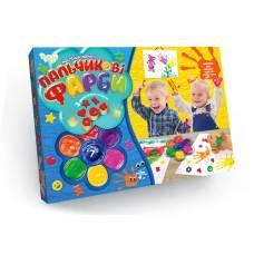 Фарби пальчикові фарби Danko Toys 7 кол.
