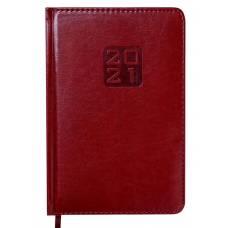 Діловий щоденник датований Buromax А5 BRAVO (Soft) шт.шкіра, коричневий