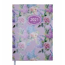 Діловий щоденник датований Buromax А5 BLOSSOM зефірний