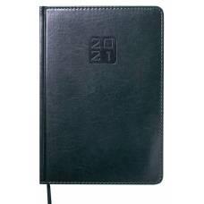 Діловий щоденник датований Buromax А5 BRAVO (Soft) шт.шкіра, зелений