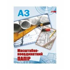 Скат міліметровий папір А3, 1л.