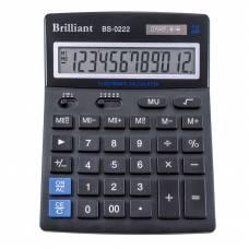 Калькулятор бухгалтерський Brilliant BS-0222 12р. (140*176мм)