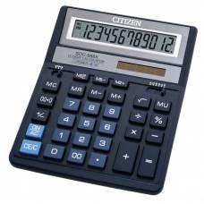 Калькулятор бухгалтерський Citizen SDC-888X BL синій 12р. (158*203мм)