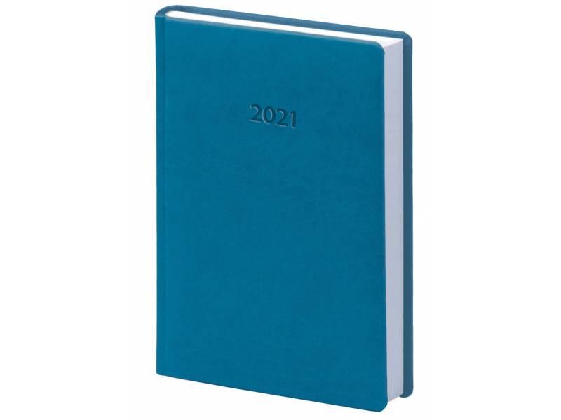 Діловий щоденник датований Поліграфіст В240 (20) VIVELLA шт.шкіра, бірюзовий