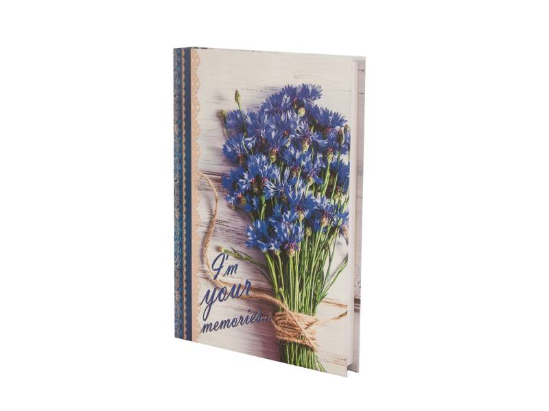 Діловий щоденник *Buromax А5 ROMANTIC синій лінія