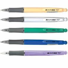 Ручка кулькова автоматична Buromax SOLID 0,7мм синя*