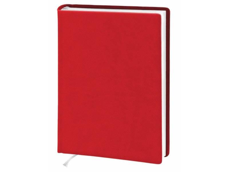 Діловий щоденник Поліграфіст А5 В239 шт.шкіра TWILL, червоний клітинка
