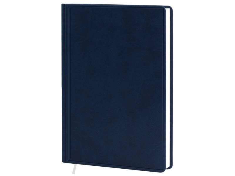 Діловий щоденник Поліграфіст А5 В239 шт.шкіра TWILL, синій клітинка