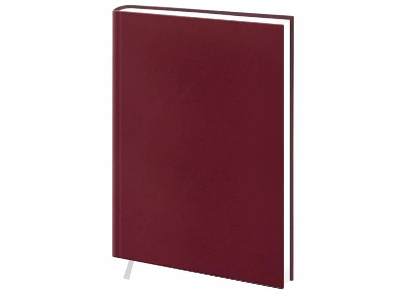 Діловий щоденник Поліграфіст А6 В237 баладек MARANO, бордо клітинка