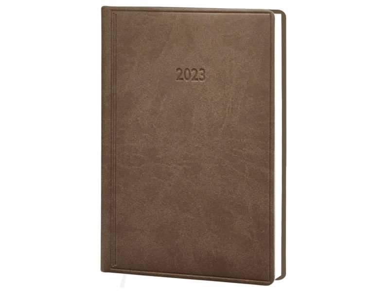 Діловий щоденник датований Поліграфіст В240 (20) VIVELLA шт.шкіра, коричневий