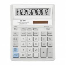 Калькулятор бухгалтерський Brilliant BS-777WH білий 12р. (157*200мм) (аналог Citizen 888)