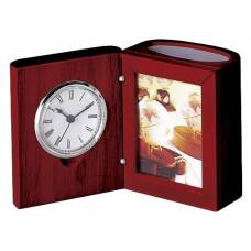 Bestar 0056XJU наст. прилад (годинник, фоторамка) ЧЕРВОНЕ ДЕРЕВО