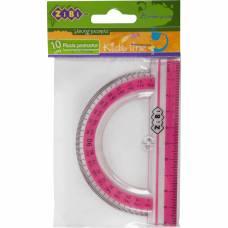Zibi 100мм з рожевою смужкою, блістер