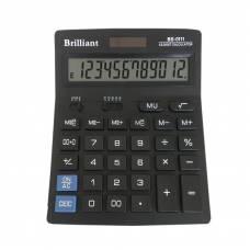 Калькулятор бухгалтерський Brilliant BS-0111 12р. (140*176мм)